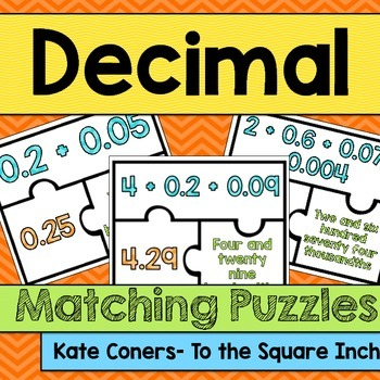 Decimal Matching Puzzles