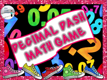 Decimal Math Game: Decimal Dash!