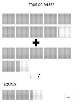 Decimal Model Equations