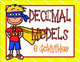Decimal Models- 6 Activities Set