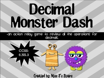 Decimal Monster  Dash