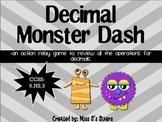Decimal Monster  Dash