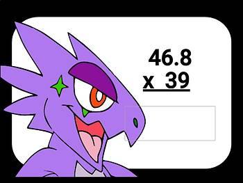 Decimal Multi-Digit Multiplication Digital Boom Cards task cards grade 5