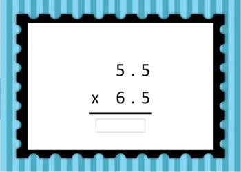 Decimal Multiplication Computation Boom Card Deck 3