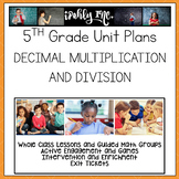 Decimal Multiplication & Division 5.3A 5.3D 5.3E 5.3F 5.3G 5.4F