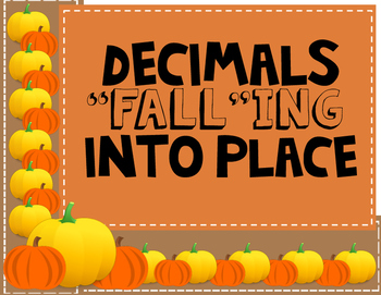 Decimal Multiplication/Division Review