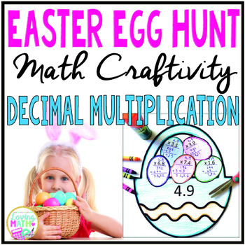 Decimal Multiplication Easter Craft
