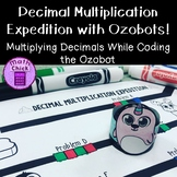 Decimal Multiplication Expedition Ozobot Challenge Multiply Decimals