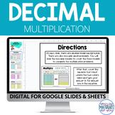 Decimal Multiplication Google™ Slides and Sheets