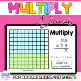 Decimal Multiplication Google™ Slides and Sheets