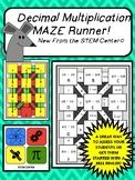 Decimal Multiplication Maze Runner and Time Saver
