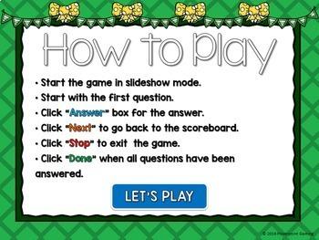 Decimal Multiplication Powerpoint Game