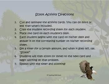 Decimal Multiplication Scoot Activity/Task Cards