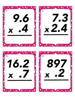 Decimal Multiplication Scoot!