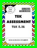 TEK Assessment 5.3E - Products of Decimals