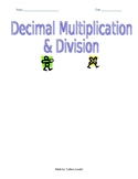 Decimal Multiplication and Division