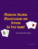 Decimal Multiplication and Division Modeling Go Fish Card Game