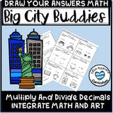 5th Grade Math Art Activities Multiply and Divide Decimals