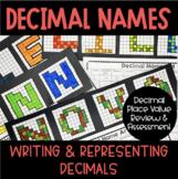 Decimal Names - Decimal Place Review