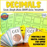 Decimal Number Sense BUNDLE   Boom Learning℠