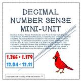 Decimal Number Sense Mini-Unit to the Thousandths Place