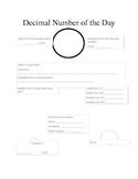 Decimal Number of the Day Bellringer