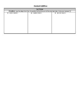 Decimal Operations Bundle Mini Lessons & Worksheets (Remediation/Intervention)