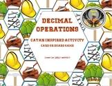 Decimal Operations Catan