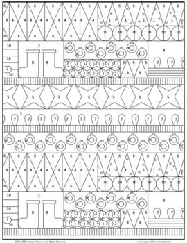 decimal operations coloring worksheet by lindsay perro tpt. Black Bedroom Furniture Sets. Home Design Ideas