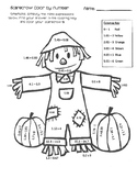 Decimal Operations Coloring Page