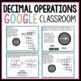 Decimal Operations Digital Activities