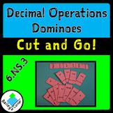 Decimal Operations Dominoes