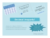 5th/6th Grade Math CCSS Aligned Decimal Operations Jeopardy PowerPoint Game
