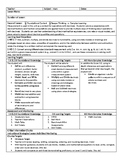 Decimal Operations Lesson Plan with Goal and Scale