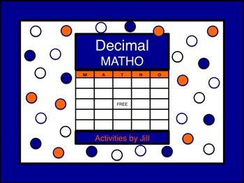 Decimal Operations MATHO