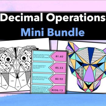 Decimal Operations: Mini Bundle