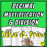 Multiplying and Dividing Decimals Coloring Activity