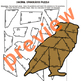 Decimal Operations OWL Partner Puzzle for Display FREE