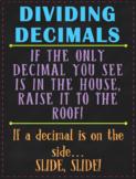 Decimal Operations Posters (Handouts)