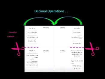 Decimal Operations How-To Powerpoint and Interactive Noteb
