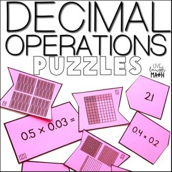 Decimal Operations Puzzles