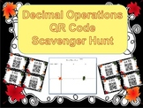Decimal Operations QR Code Scavenger Hunt
