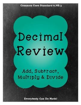 Decimal Operations Review