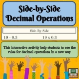 Decimal Operations - Review - Activities - Middle School