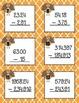 Decimal Operations Task Cards-Thanksgiving