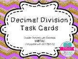 Decimal Patterns Task Cards- GO Math! 5.1