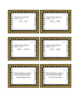 Decimal Place Value BUNDLE - Save over 20%