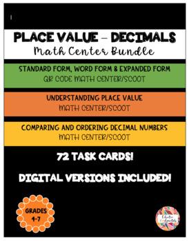 Decimal Place Value BUNDLE - Save over 20%