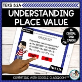Decimal Place Value | Boom Cards Math Distance Learning