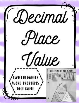 Decimal Place Value Bundle